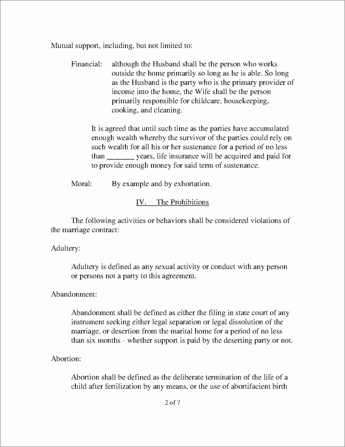 divorce agreement style 875 2 rypay