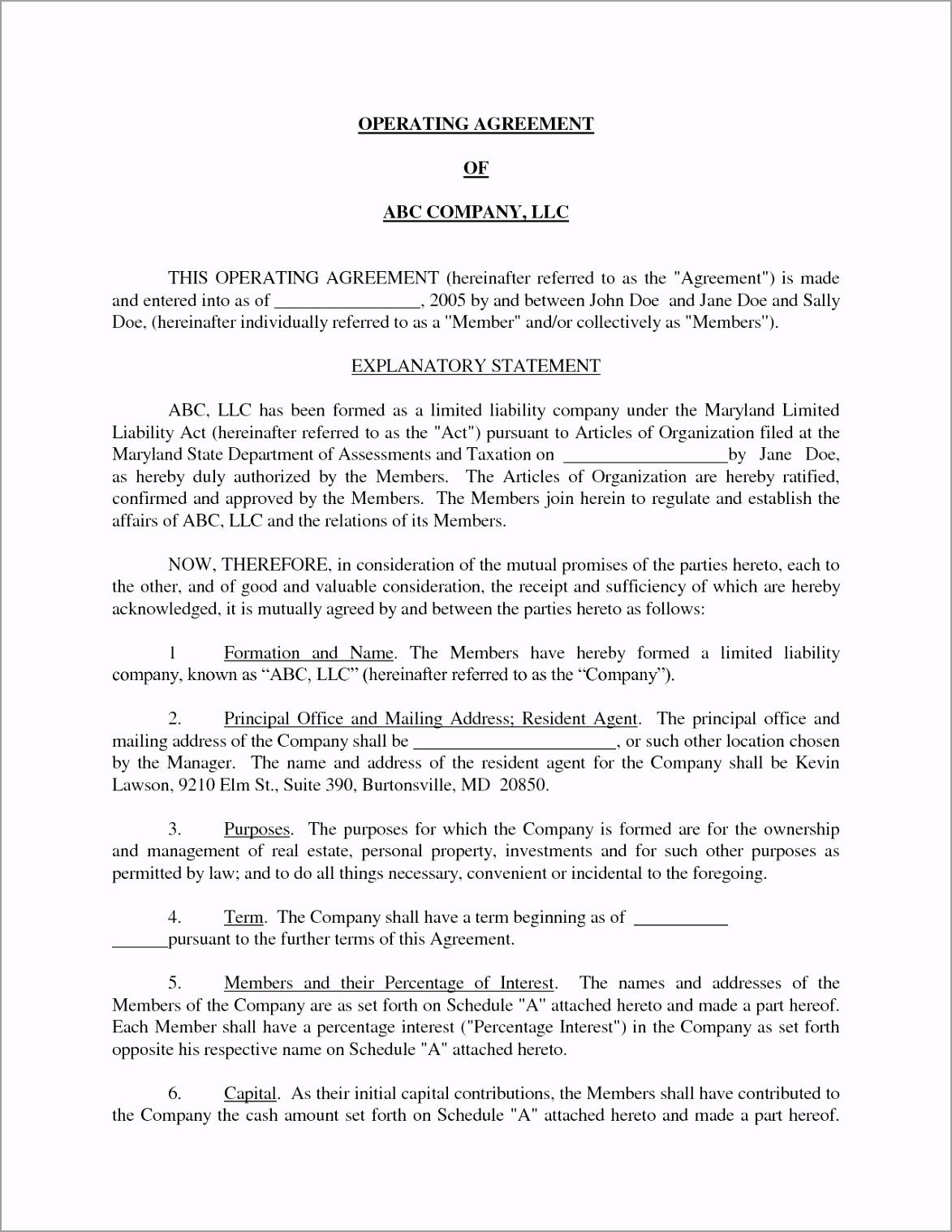 michigan llc operating agreement template free awesome single member uoptr