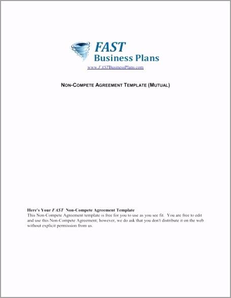 non pete agreement template fast business plans tiluu