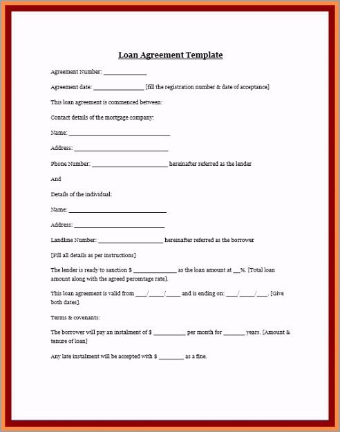 loan agreement between friends template luxury 8 personal loan agreement between friends of loan agreement between friends template ootwa