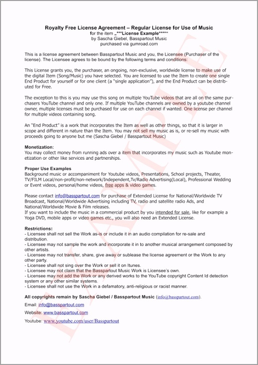 basspartout royalty free license agreement example 02 orig owiat