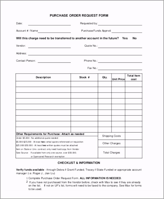 Simple Order Request Form pytzp
