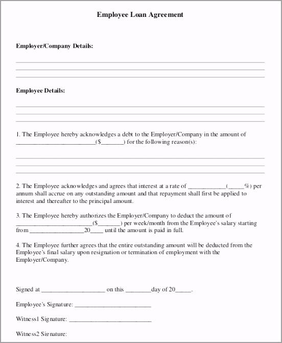 Standard Employee Loan Agreement3 otpuu