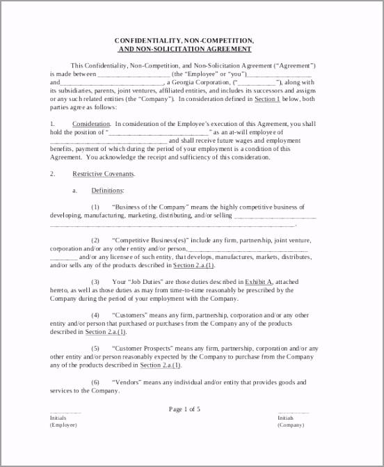 Employee Confidentiality Agreement Form iiuwu