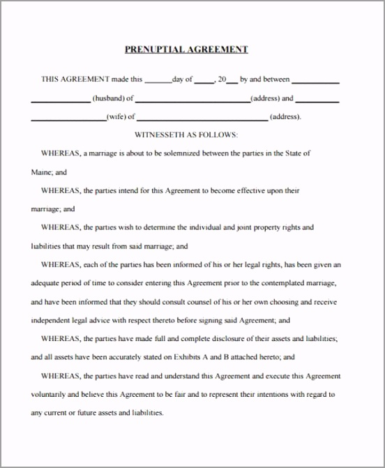 Generic Postnuptial Agreement Form uuoew