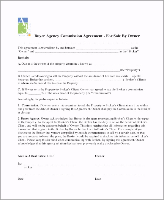 Buyer Agency mission Agreement uiwai
