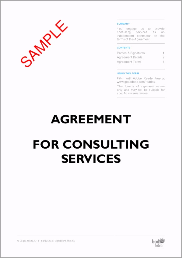 agreement for consulting services doc no 6464 sample owfob