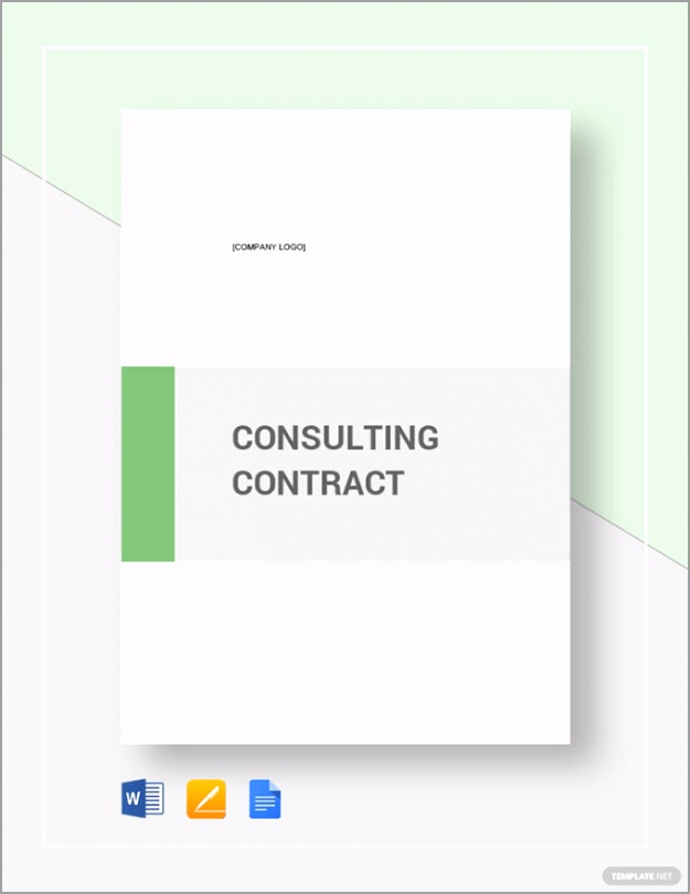 Sample Consulting Contract Template 680x881 ortoy