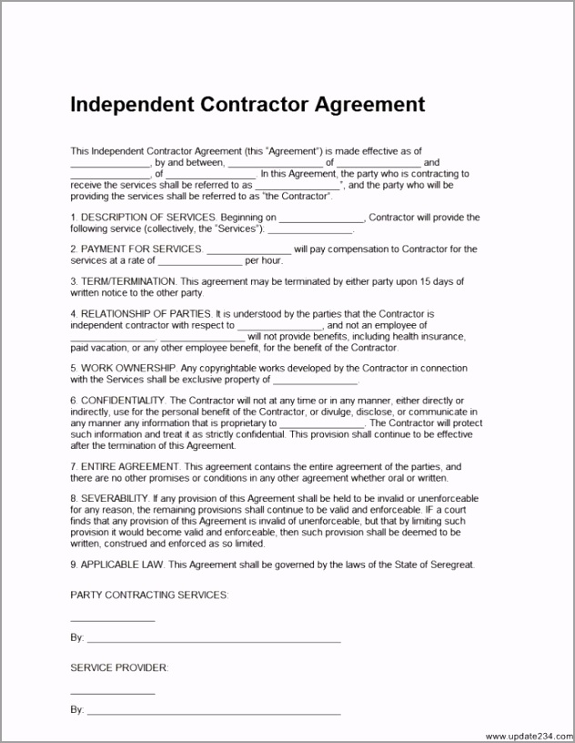 free independent contractor agreement template independent contractor agreement template free free independent contractor agreement template independent eawyr