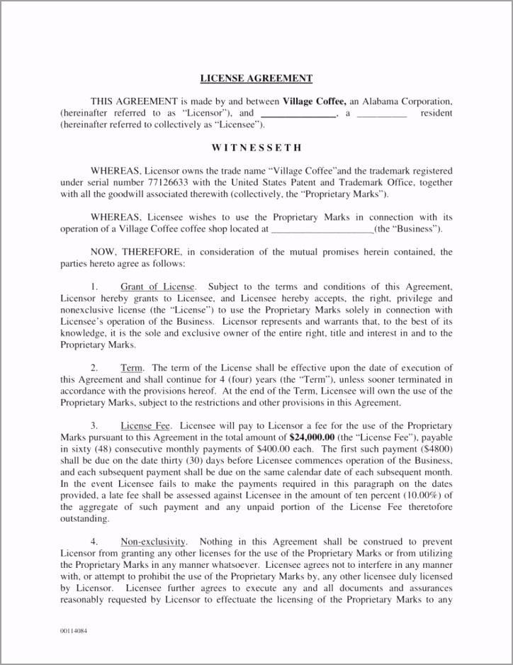 vilage coffee trademark license agreement 1 788x1020 erxwt