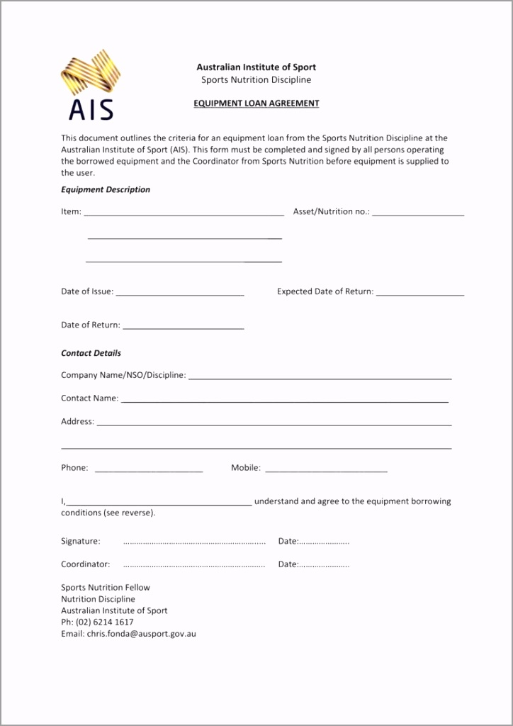 Sports Nutrition Equipment Loan Agreement 1 788x1114 pswot