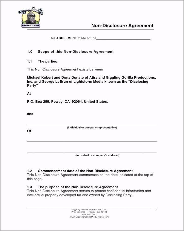 business plan non disclosure agreement it samples confidentiality urort