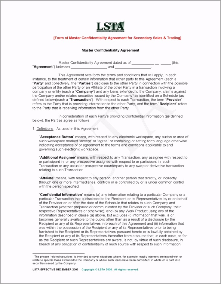Pages from Master Confidentiality Agreement Secondary Trades December 11 2006 799x1024 yoaoe