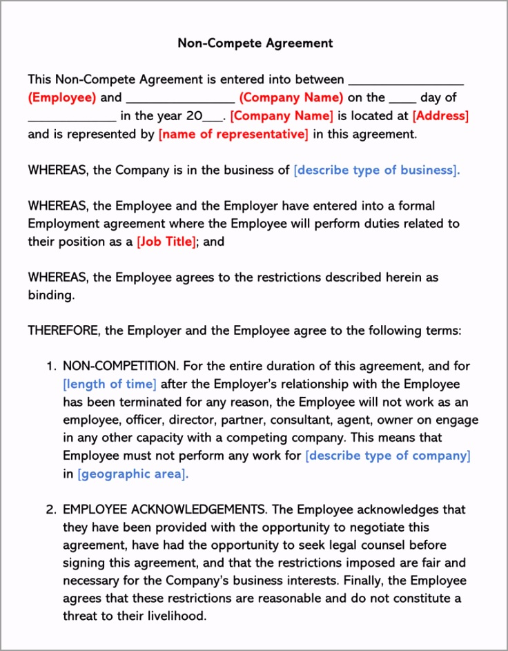 Non Disclosure Agreement Template for Employee uapeu