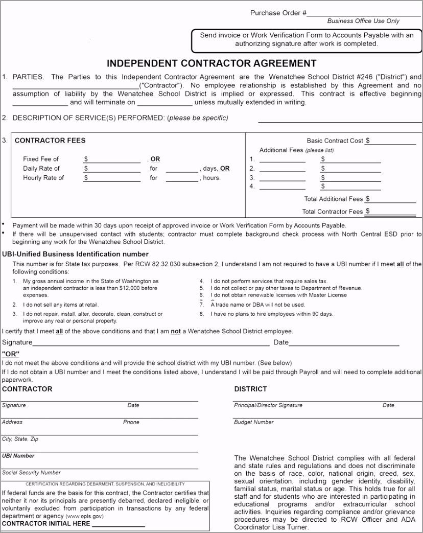 independent contractor agreement 38 rauca