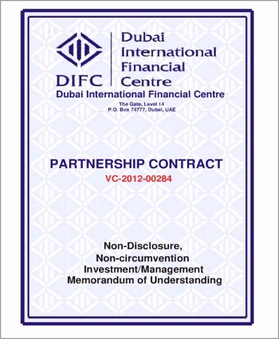Partnership Investment Agreement Sample 1 iriat