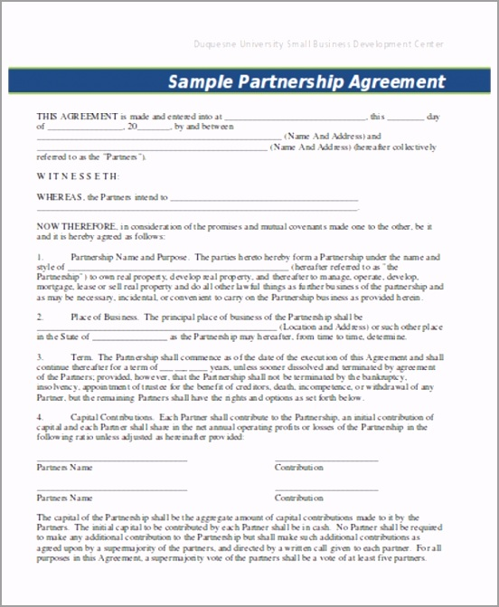 Business Contract Template ieyew