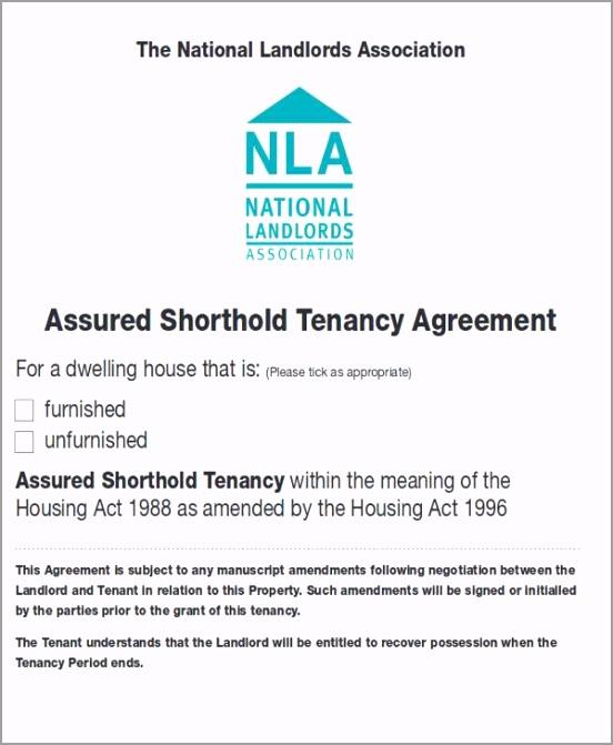 Short Term Tenancy Agreement uutti