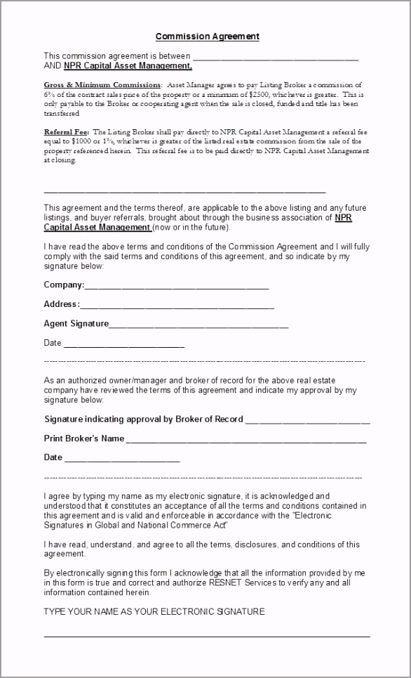 mission Agreement Template 13 tojri