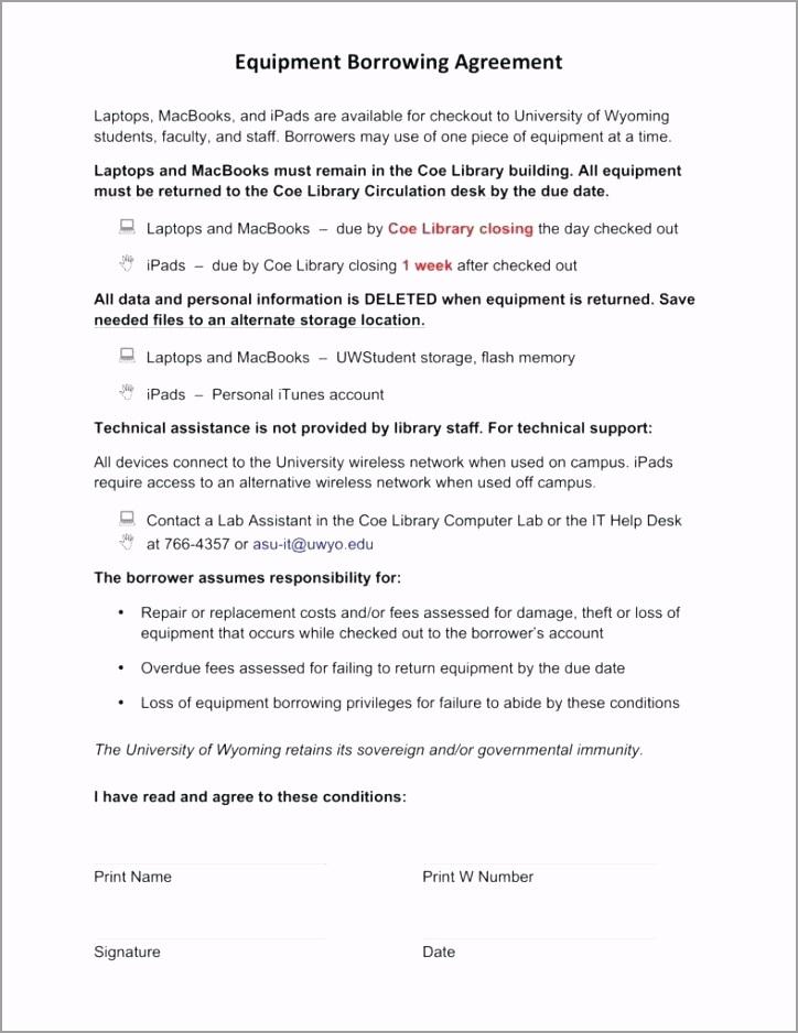 6 equipment loan agreement templates word free short term personal template matching yoyau