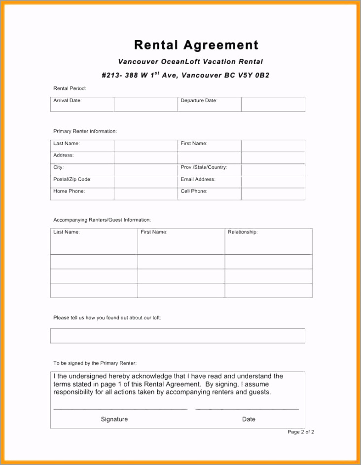 house rental agreement forms free awesome one page lease agreement free vatozozdevelopment of house rental agreement forms free eppya