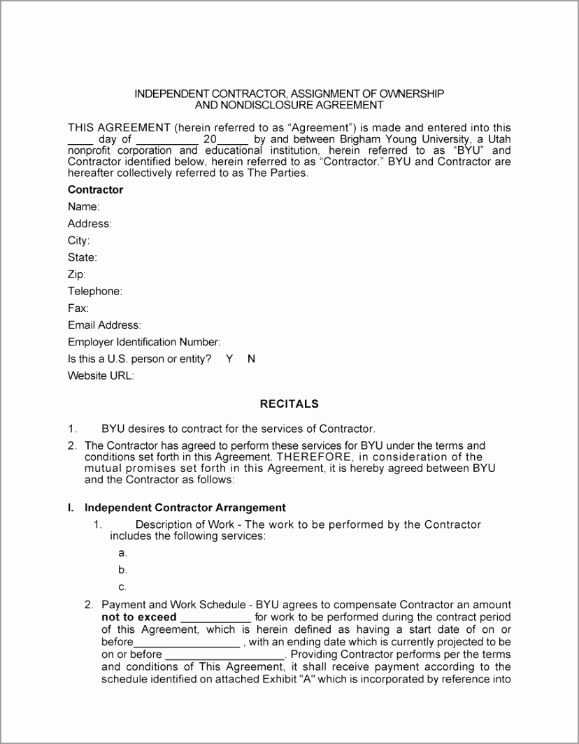 independent contractor agreement 27 oetuy