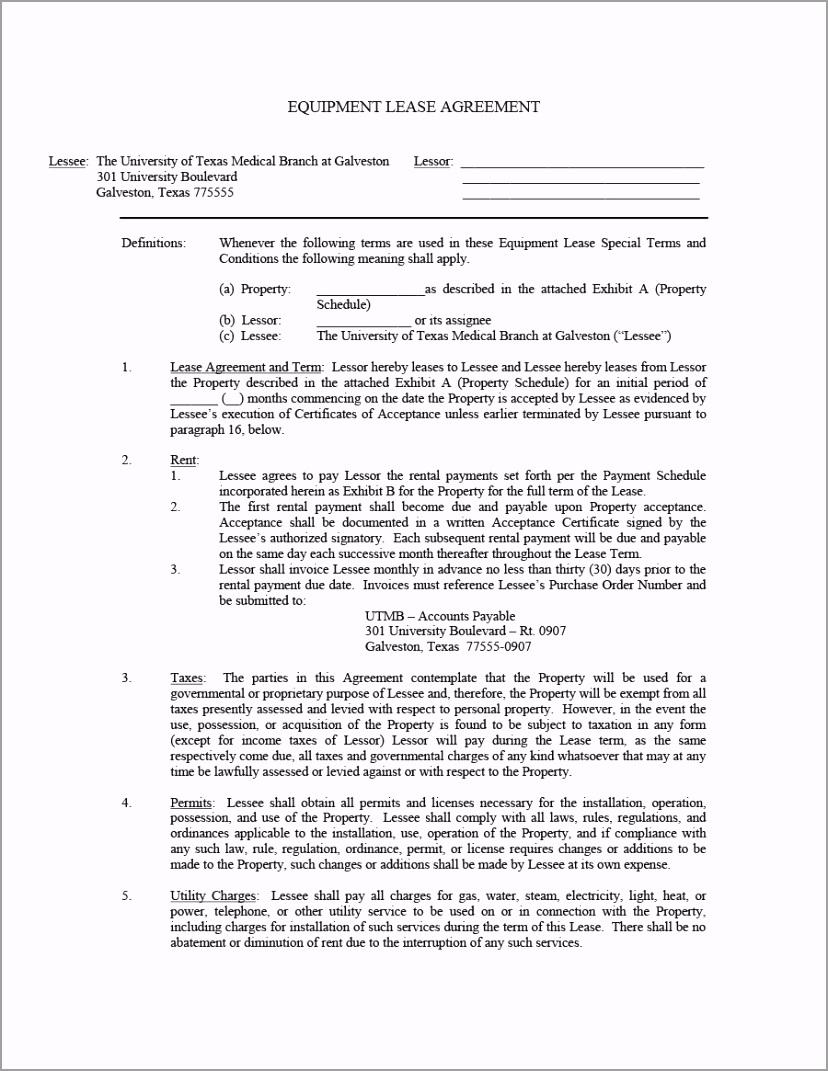 equipment lease agreement 03 aypuu