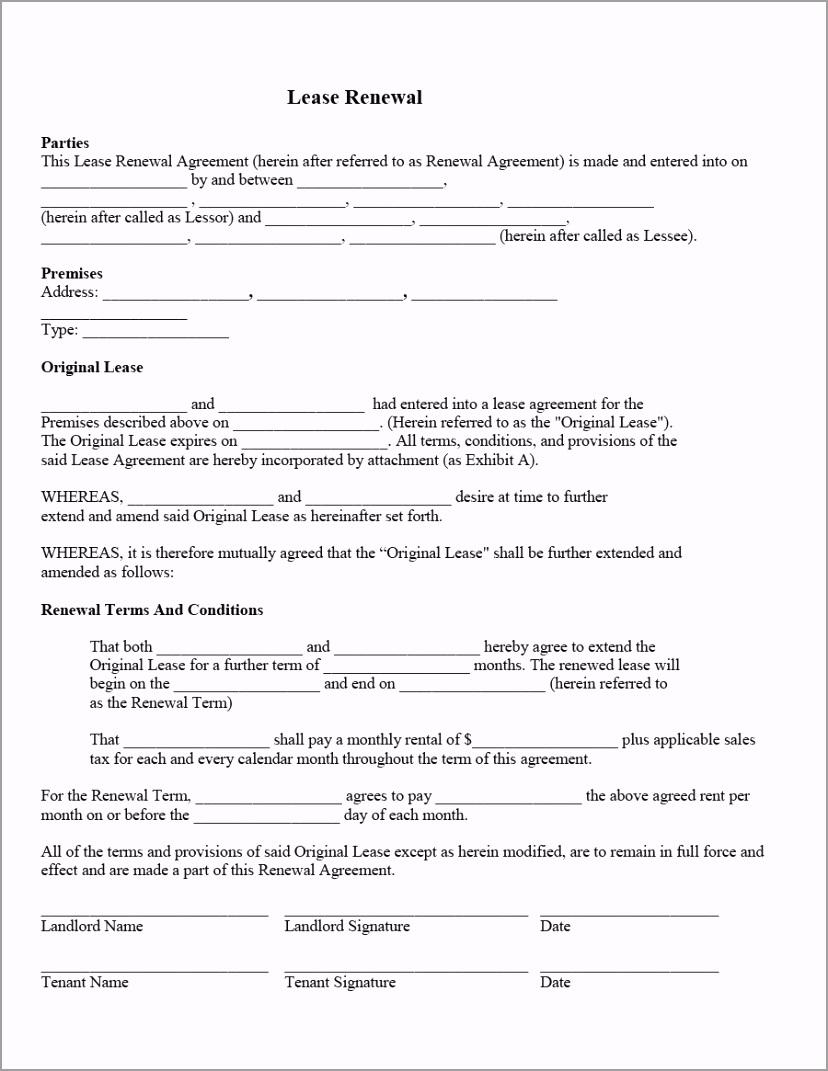 lease renewal letter 09 yooei