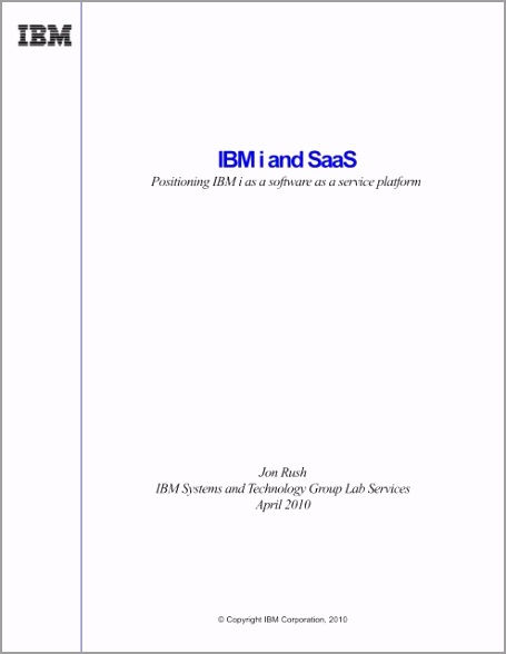 ibm i and saas positioning ibm i as a software as a service platform oryuy