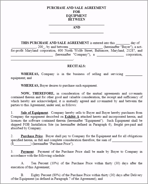 IP Sale Agreement Template 4 uwute