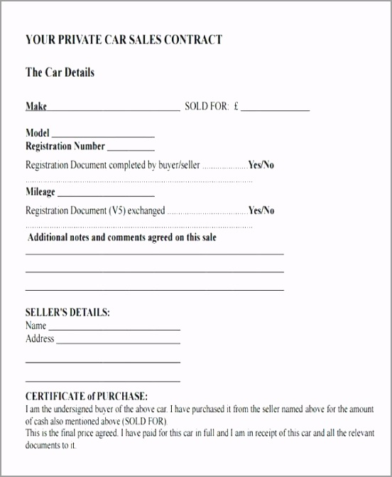 car sale agreement template templates resume examples printable used vehicle purchase format in word c etgam
