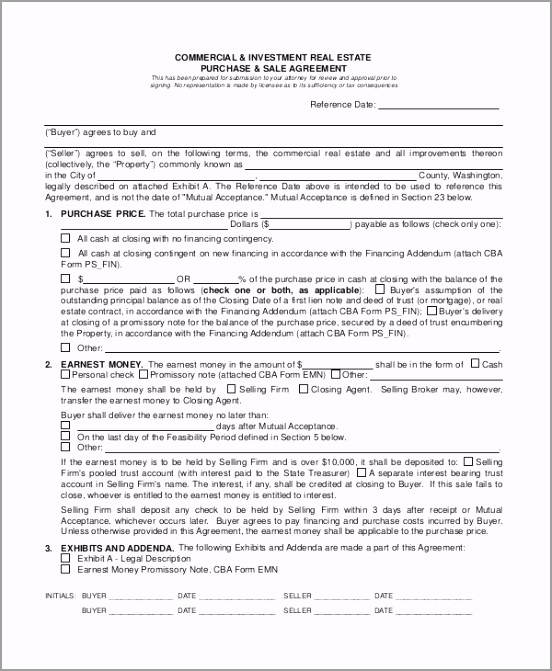 mercial Lease Purchase Agreement iiapy