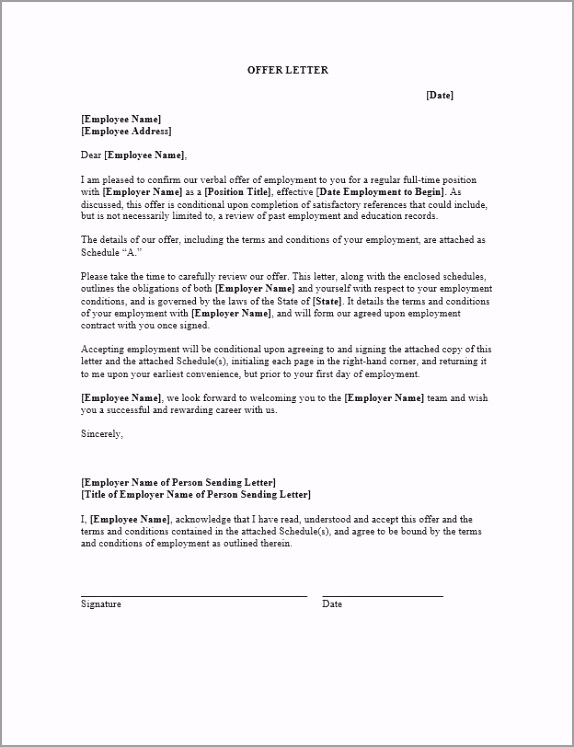 Employment Agreement reyir
