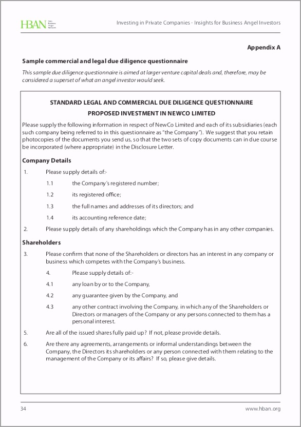 investor questionnaire template simple investment agreement best investment agreement between uerap