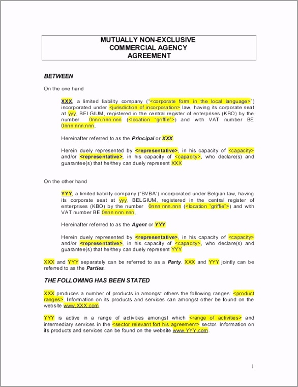 agency agreement example template 1 638 uppwt