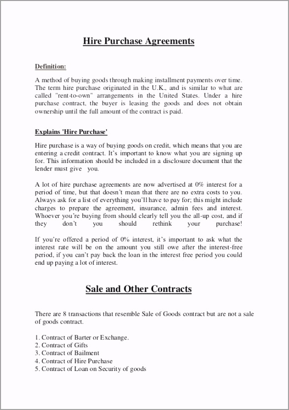 goods purchase agreement template contract for sale of goods agreement useful hire purchase agreement template uk kidscareerfo su c for contract for sale of goods agreement uuyrw