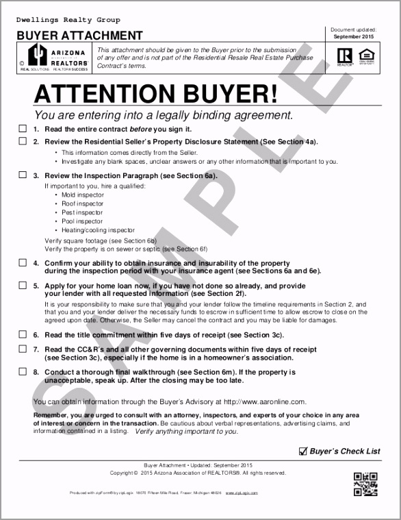blank arizona real estate purchase contract residential purchase contract 1 638 twtra