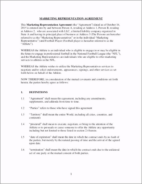 marketing representation agreementsample 1 638 paiiu
