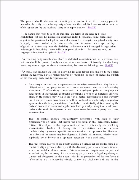 nondisclosure agreements training notes and template 12 638 aiasi