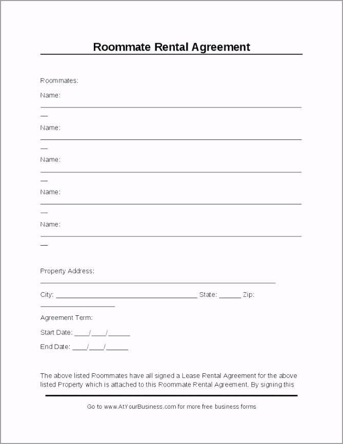 free room rental agreement template form florida lease rent a uk teruw