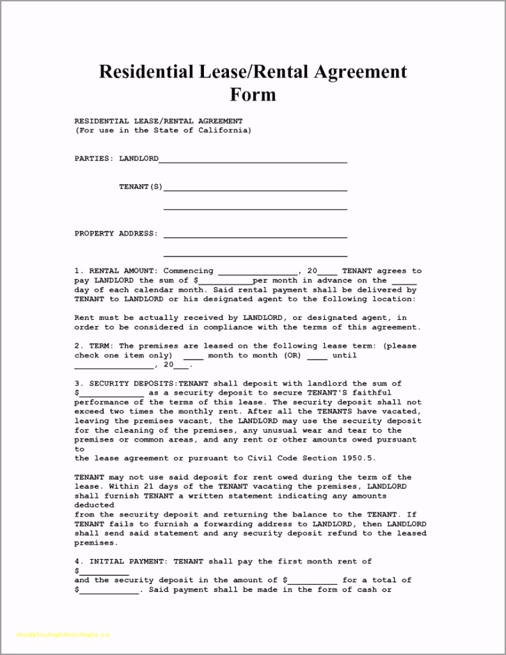 free rental agreement form california lovely 28 new sample residential lease agreement example of free rental agreement form california ykpyq