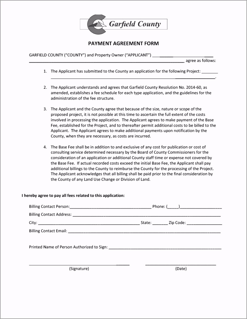 payment agreement template 19 ybrey