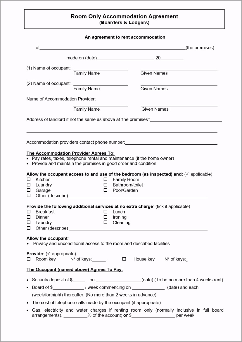 room rental agreement 05 itwty