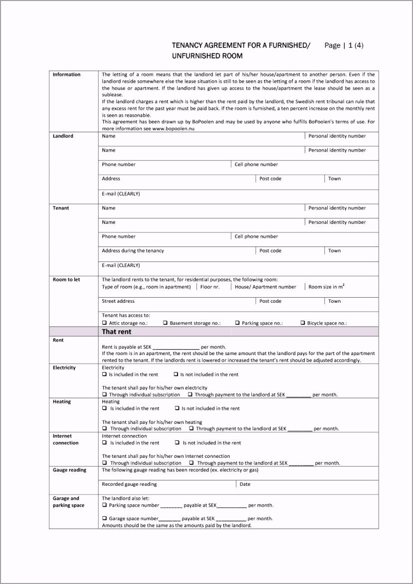 room rental agreement 11 etaai