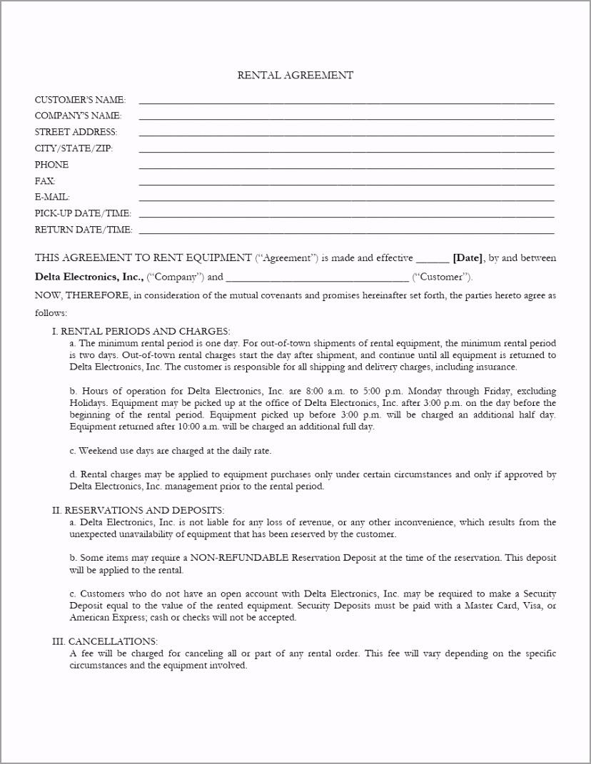 equipment lease agreement 40 iptah