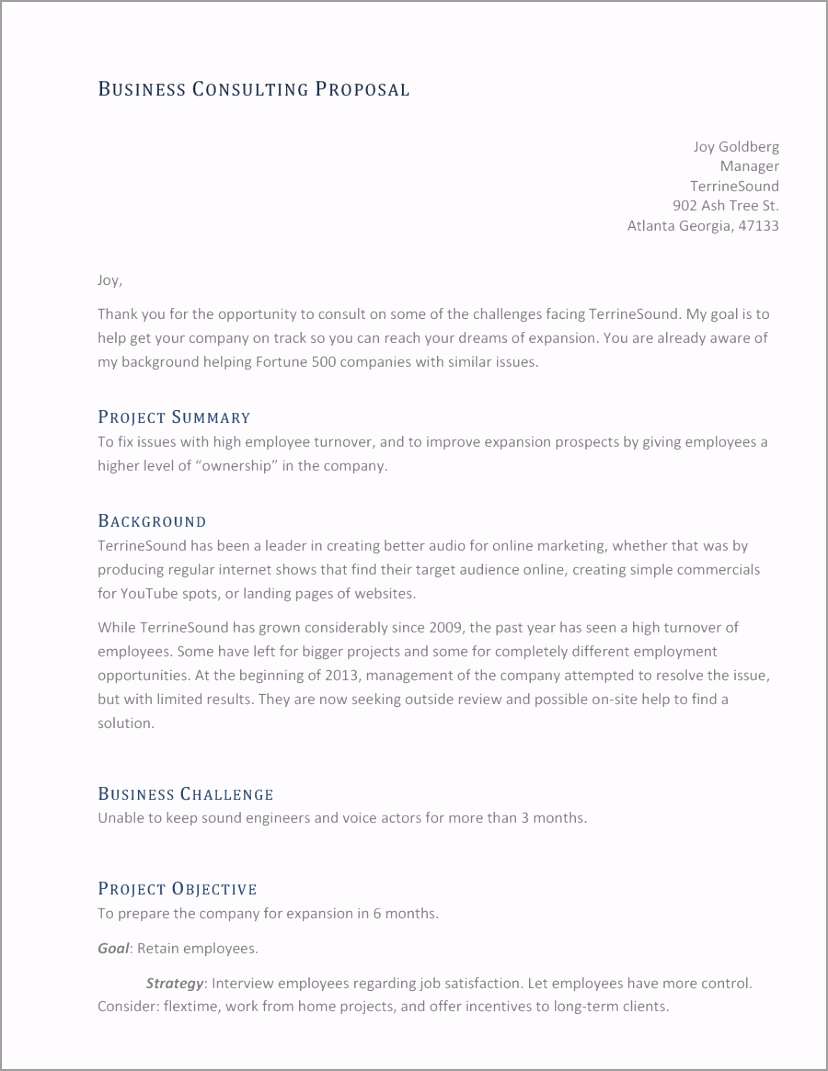 consulting proposal template 01 trwey