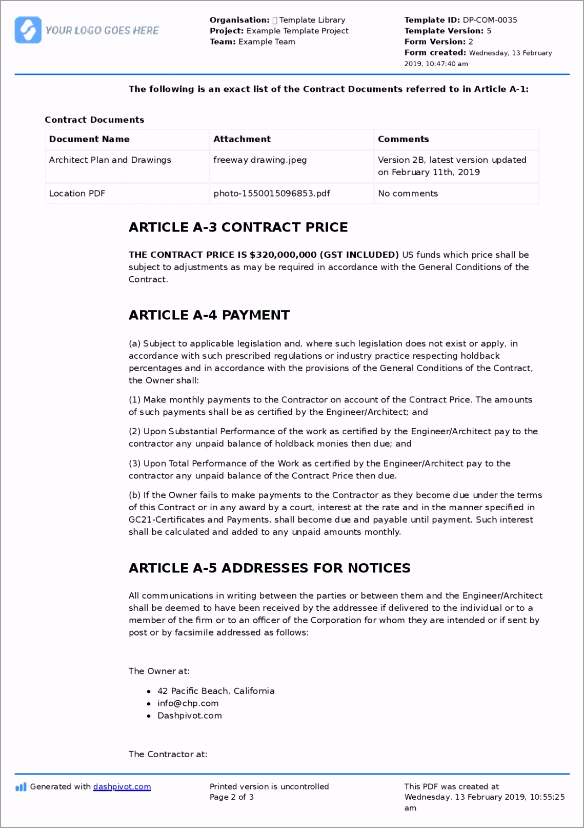 2019 1 12 Contract Agreement 5 page 002 ttota