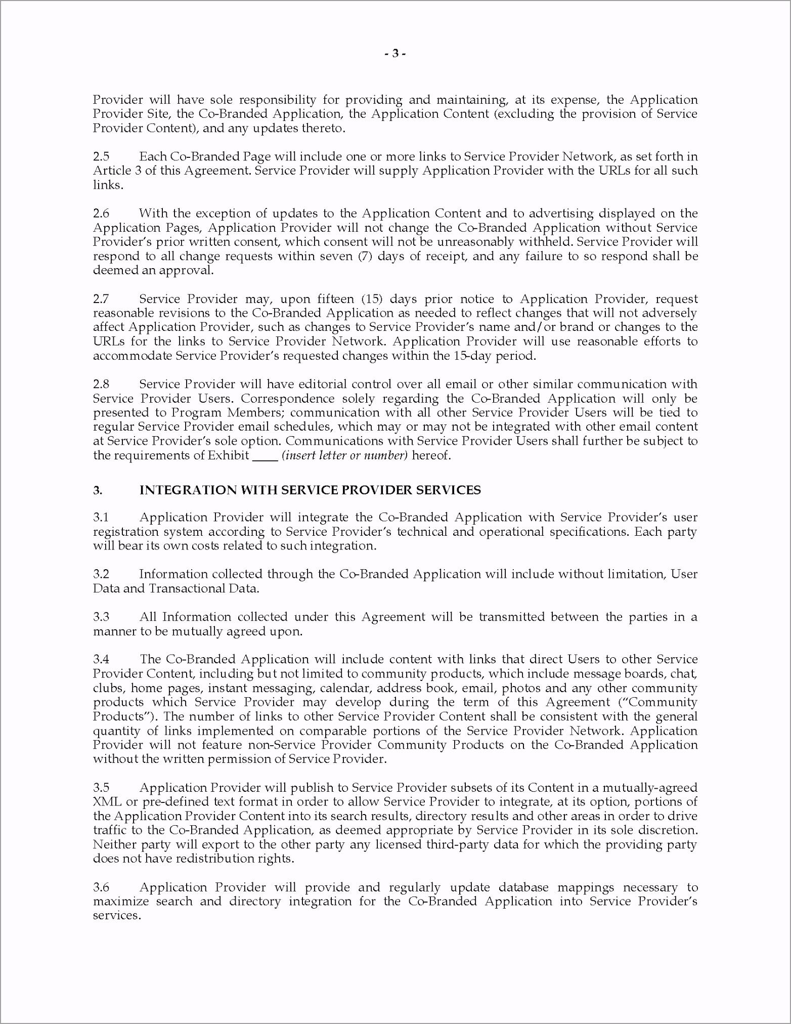 co branding agreement canada wiuuo