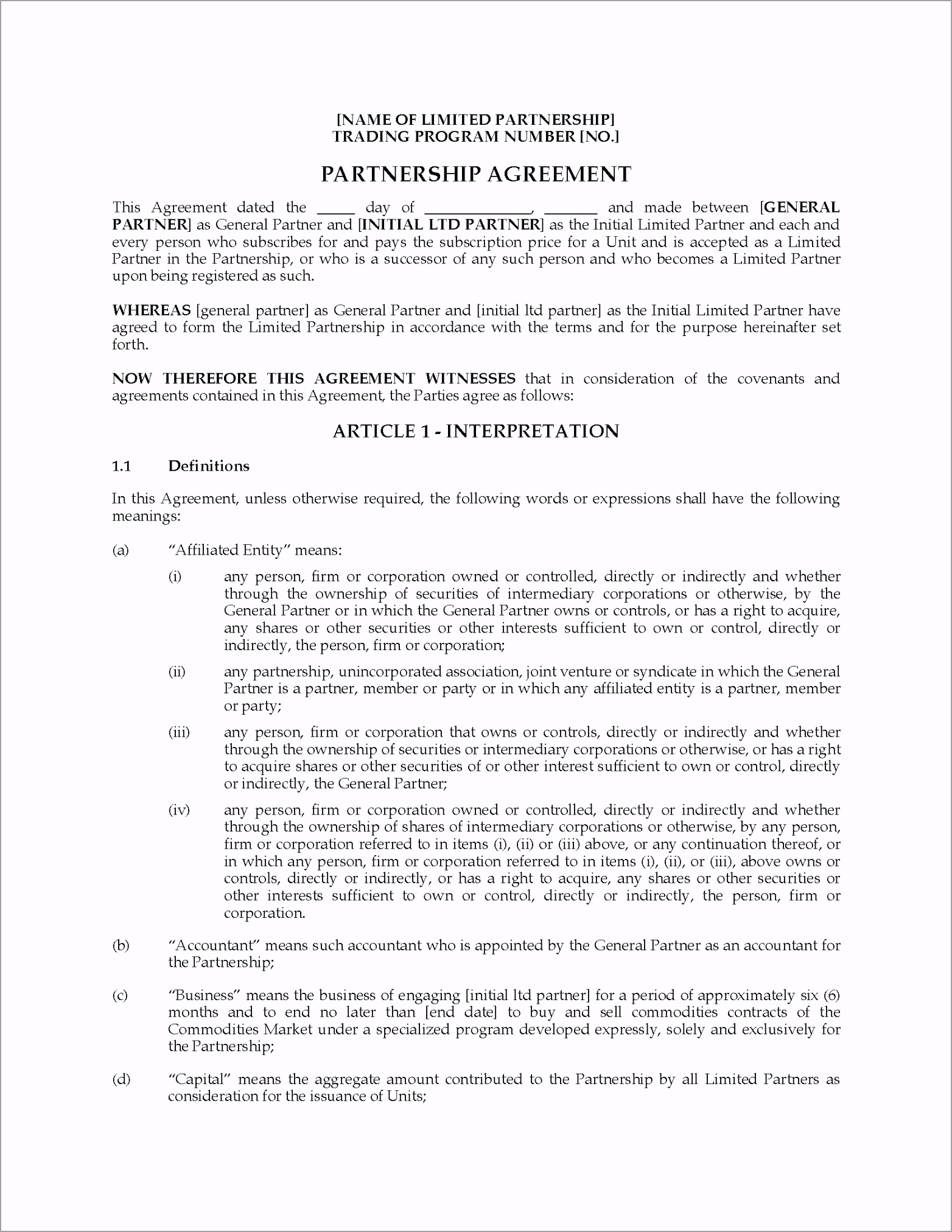 001 striking limited partnership agreement template ideas tiwwr