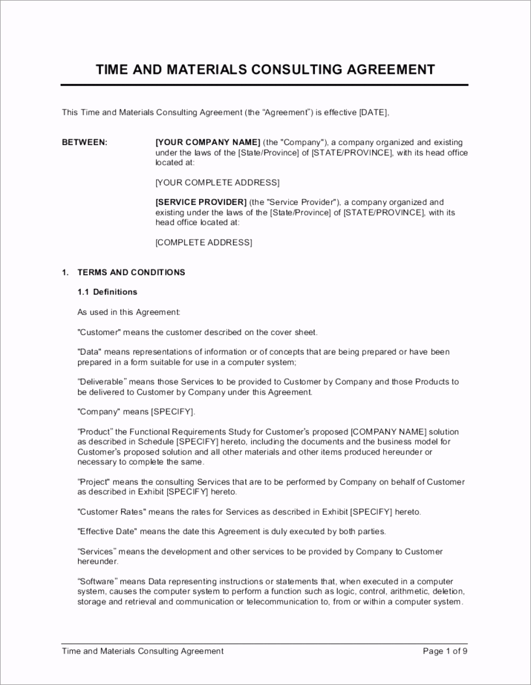 010 fantastic simple consulting agreement template image 1920 2477 pttyt